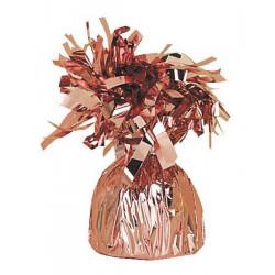 Mini poids pour ballon rose gold Déco festive U49015