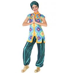 Déguisement hindou vert femme Déguisements 5403-