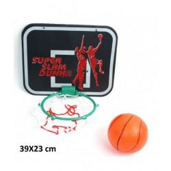 Jeu basket avec filet et balle 18x22 cm Jouets et articles kermesse 14400