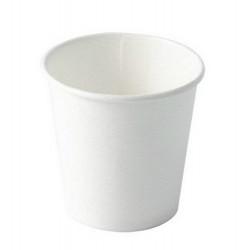 Gobelet à café x 50 carton blanc uni 10 cl Déco festive 3063BL