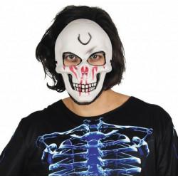 Masque squelletor ensanglanté Accessoires de fête 333043