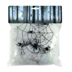 Toile d'araignée 50 grs ingnifugée déco halloween Déco festive 333415