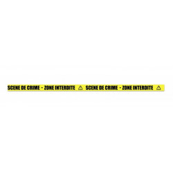 Bannière délimitation scène de crime 10 m Déco festive 333027