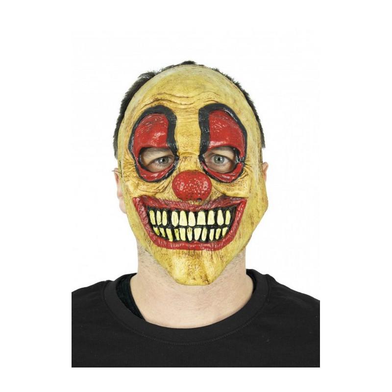 Masque latex clown de l'horreur adulte Accessoires de fête 8731278