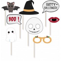 Set 8 accessoires photobooth Halloween Accessoires de fête 812512