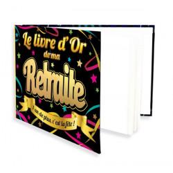 Livre d'or Vive la Retraite 20 pages Déco festive B13115
