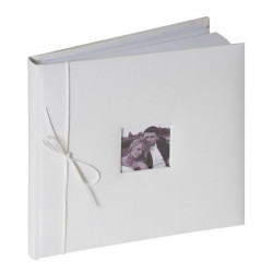 Livre d'or blanc 20 pages Déco festive 826BL