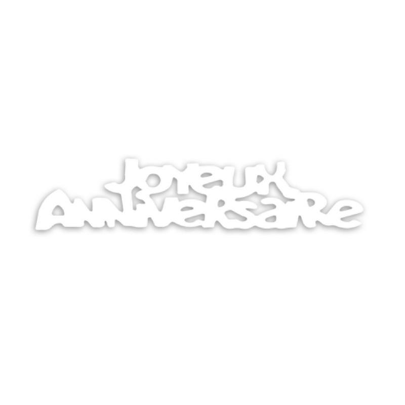 Confettis Joyeux Anniversaire blancs 15 g Déco festive CD4586
