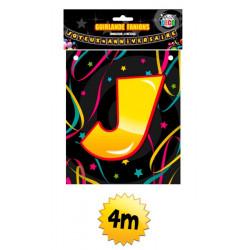 Guirlande fanions Joyeux Anniversaire 4 m Déco festive B12809