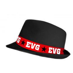 Chapeau EVG noir Accessoires de fête CD4342