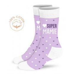 Chaussettes fantaisie Super Mamie Accessoires de fête CD5297_04
