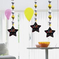 Sachet 10 ballons fluo diam 26 cm 3700236663143