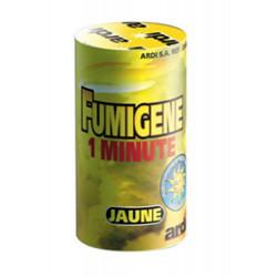 Tube fumigène 1 minute jaune Divers 33033
