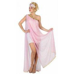 Déguisements, Déguisement déesse grecque rose taille XL, 22829, 29,90€