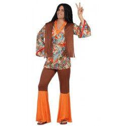 Déguisements, Déguisement hippie adulte taille S-M, 22867, 29,90€