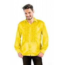 Chemise disco jaune adulte taille XL Déguisements 8653184XL