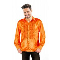 Chemise disco orange adulte taille XL Déguisements 8653186XL