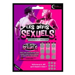 Jeu à gratter humoristique Les défis sex Divers B12060