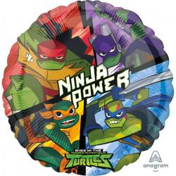 Ballon alu Le destin des Tortue Ninja 43 cm Déco festive 3890701