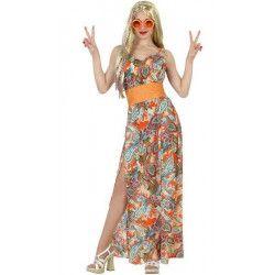 Déguisements, Déguisement hippie femme taille XL, 22872, 28,50€