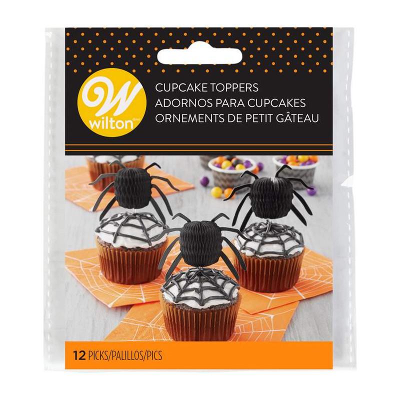 12 x Masque Gâteau Picks Cupcake Toppers//Drapeaux Fête D/'Anniversaire Décoration
