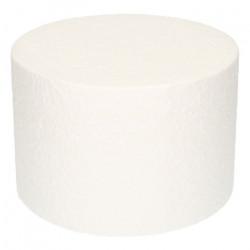 Support Dummy polystyrène gâteau rond 10x15cm Cake Design FC115RD