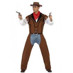 Déguisements, Déguisement cowboy homme taille S, 22903, 29,90€