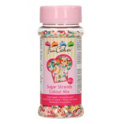 Vermicelles de sucre Funcakes 80 g multicolore Cake Design G42480