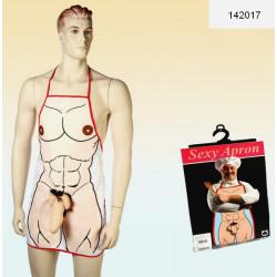 Tablier cuisinier sexy homme Accessoires de fête 142017