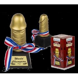 Trophée zizi pour un champion Divers 612596