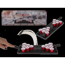 Jeu à boire Beer Pong avec planche de jeu et gobelets Divers 794018