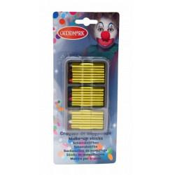 Boite maquillage de 12 crayons gras Accessoires de fête 631170