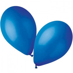 Sachet 50 ballons standard 30 cm bleu roi Déco festive BA19102/BLEUROI