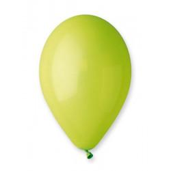 Sachet 50 ballons pastel 30 cm vert anis Déco festive BA19502/VERTANIS