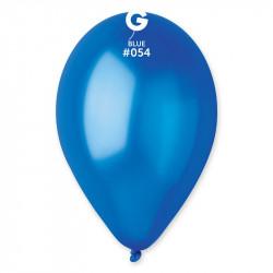 Sachet 10 ballons métallisés 30 cm bleu roi Déco festive BA19680/BLEUROI