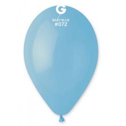 Ballons x 100 diamètre 30 cm bleu bébé Déco festive BA19100/BLEUBE