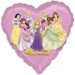 Ballon aluminium hélium Princesses Disney™ 43 cm Déco festive 2294702