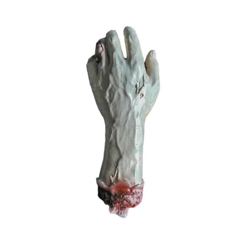 Main de zombie déchiquetée Accessoires de fête 90287
