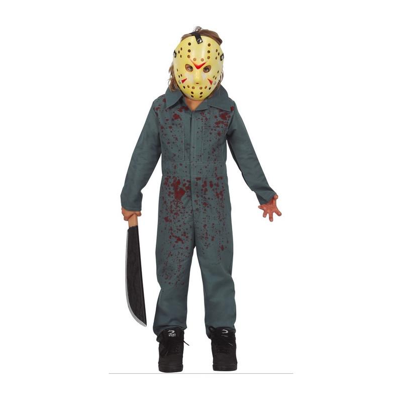 Déguisement psychopathe Halloween garçon Déguisements 771-