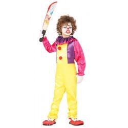 Déguisement clown assassin garçon Déguisements 87709-