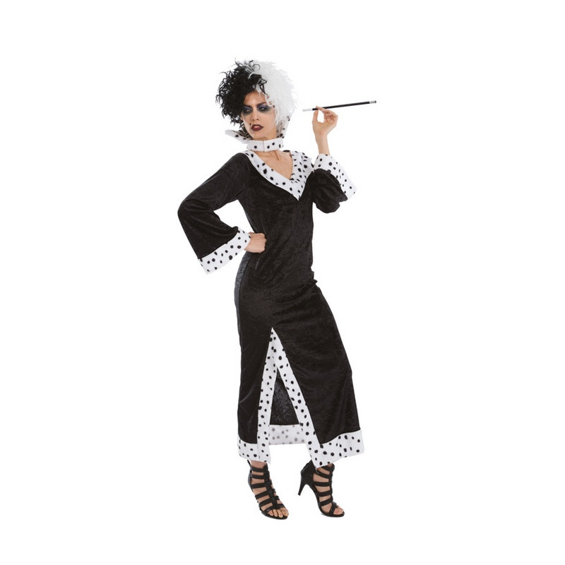 Déguisement Cruelle noir et blanc femme Déguisements C4173-