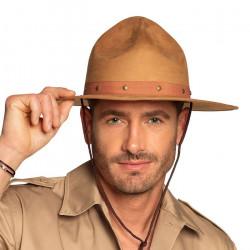 Chapeau Texas Ranger beige adulte Accessoires de fête 33000