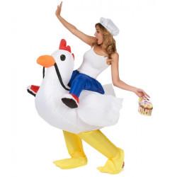 Déguisement gonflable poulet adulte Déguisements COS-CHI