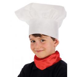 Toque chef cuisinier blanche enfant Accessoires de fête 05963