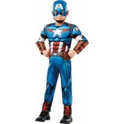 Déguisement luxe Captain America™ garçon Déguisements I-640833-