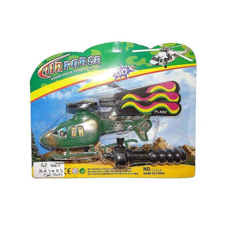 Hélicoptère lanceur Jouets et articles kermesse 6661