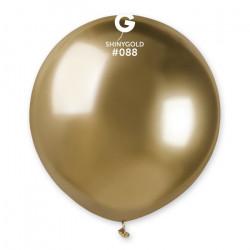 Sachet 1 ballon métallisé or brillant 48 cm Déco festive BA19991/OR