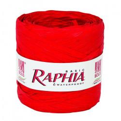 Raphia 200 m Rouge Déco festive 51011322001