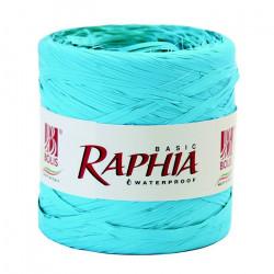 Raphia 200 m Turquoise Déco festive 51011322005