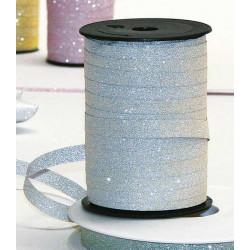 Bolduc ruban 10mmx100m Argent pailleté Déco festive 84021021019